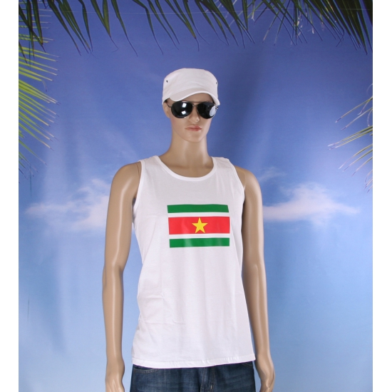 Surinamevlaggen tanktop/ t shirt