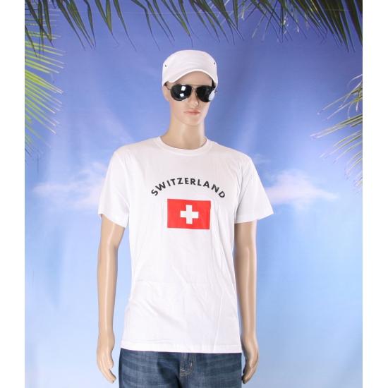 Switzerland vlaggen shirts