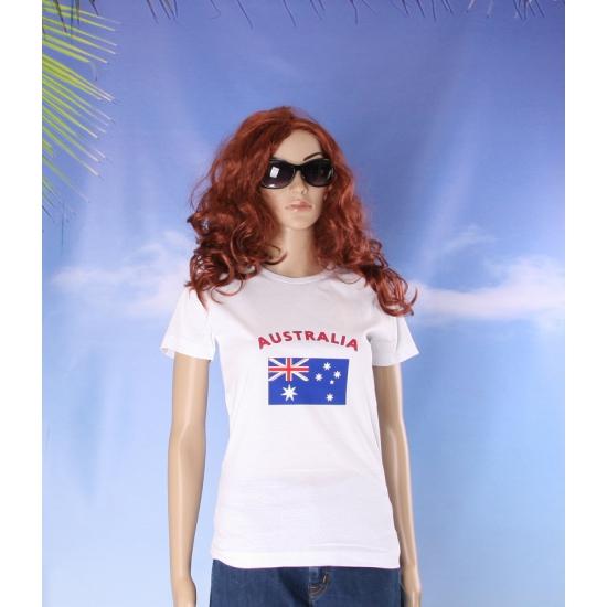 T shirt met vlag Australie print voor dames