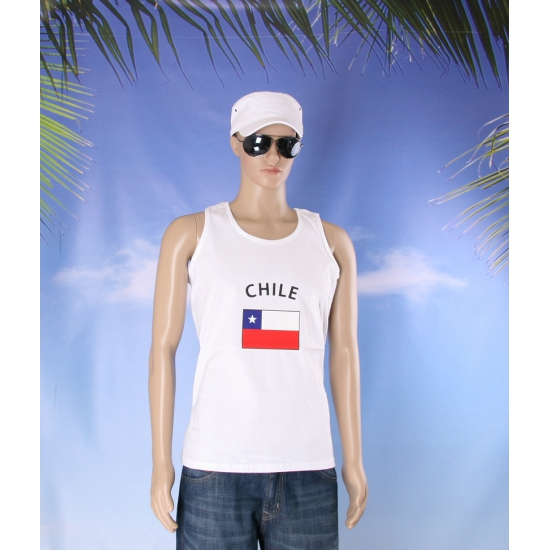 T shirt vlag Chili