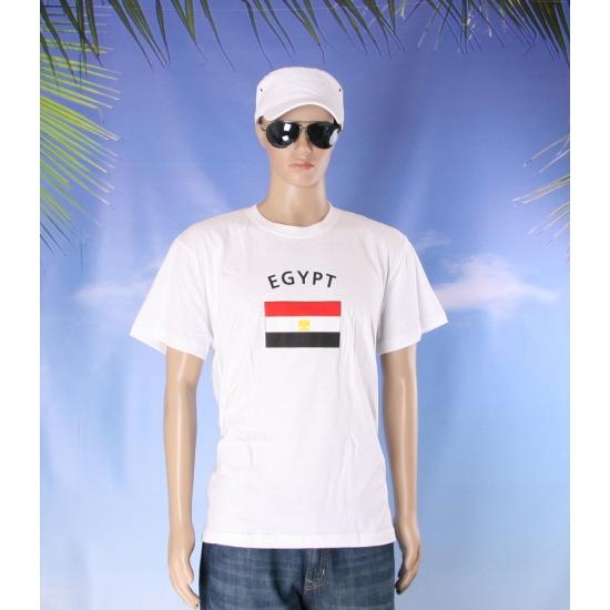 T shirts met vlag Egypte