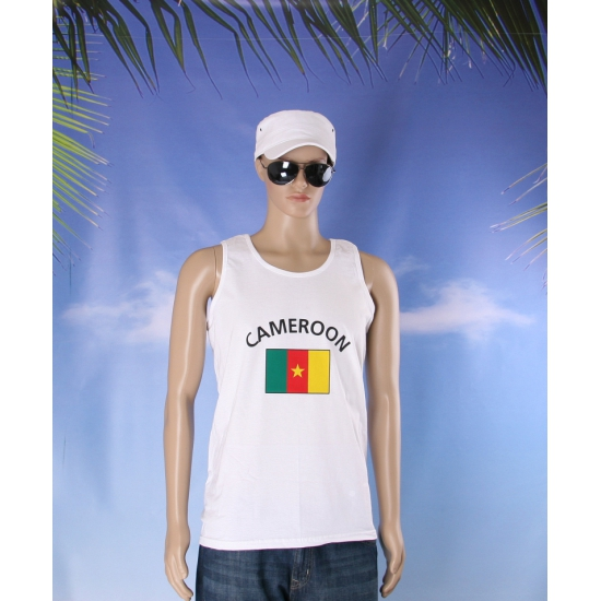 Vlaggen shirt Kameroen