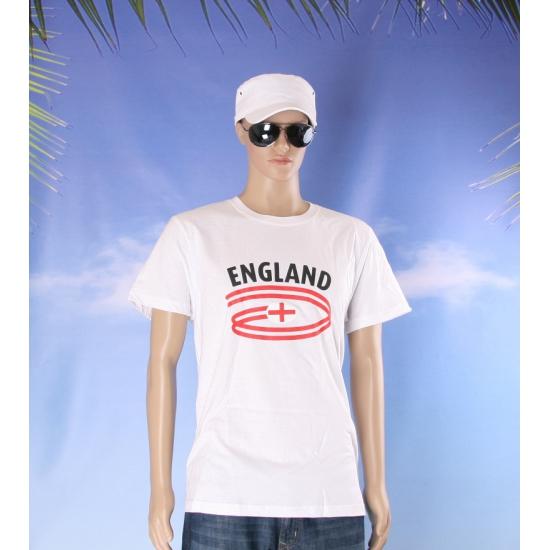 Wit heren t shirt Engeland