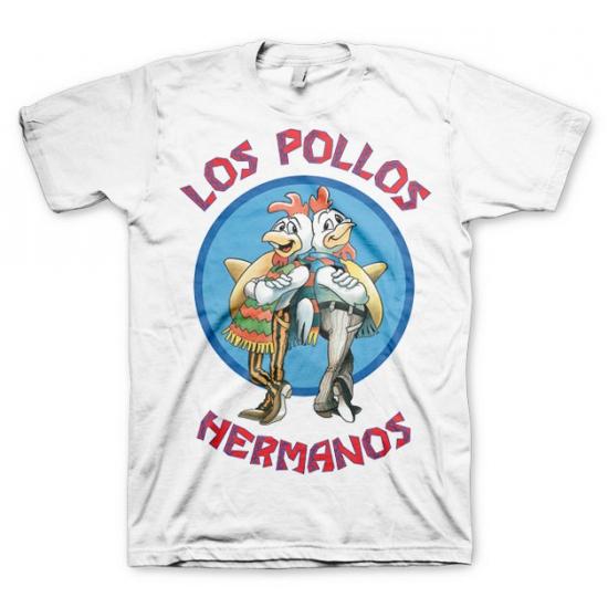 Wit Los Pollos Hermanos t shirt