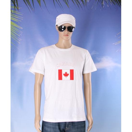 Wit t shirt Canada volwassenen