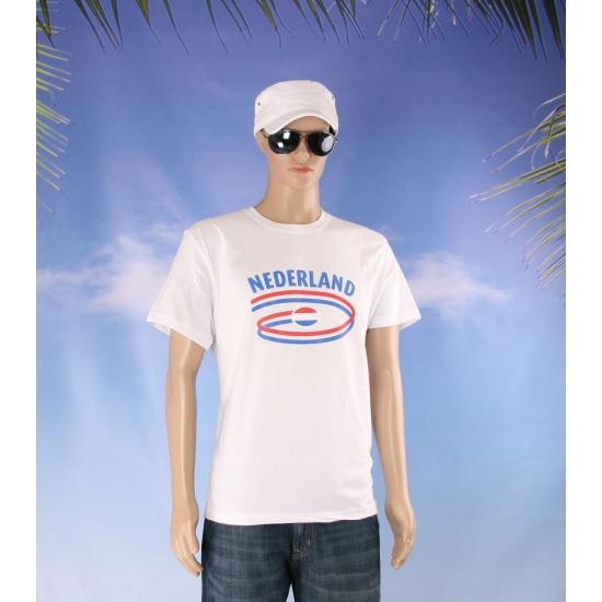 Witte body fit heren shirts Nederland