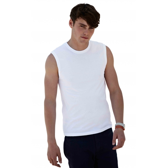 Witte tanktop van Fruit of the Loom