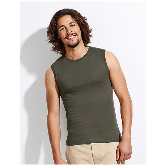 Zomers mouwloos shirt voor heren