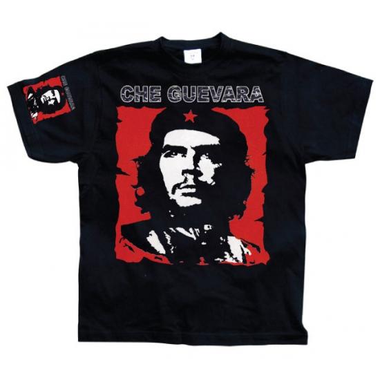 Zwart Che Guevara t shirt