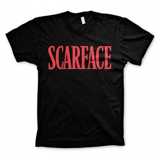 Zwart Scarface t shirt