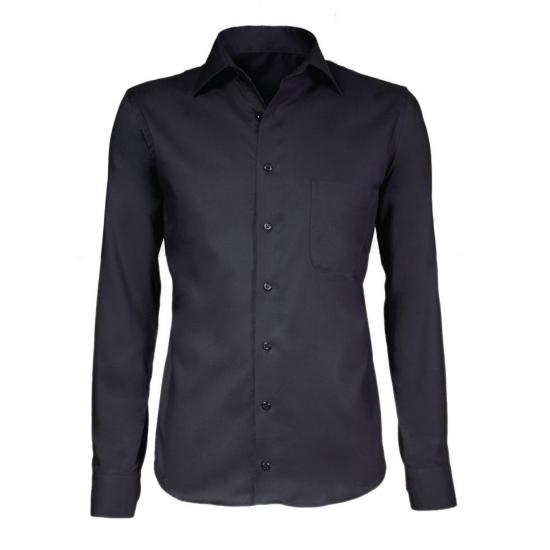 Zwart smoking overhemd