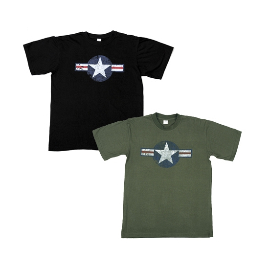 Zwart t shirt United States Air Force