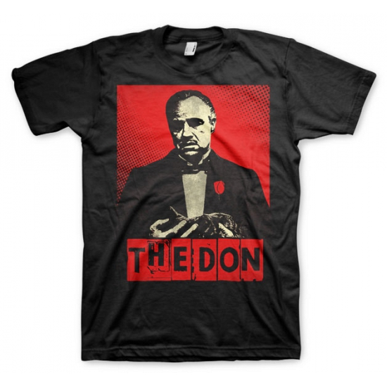 Zwart The Don t shirt