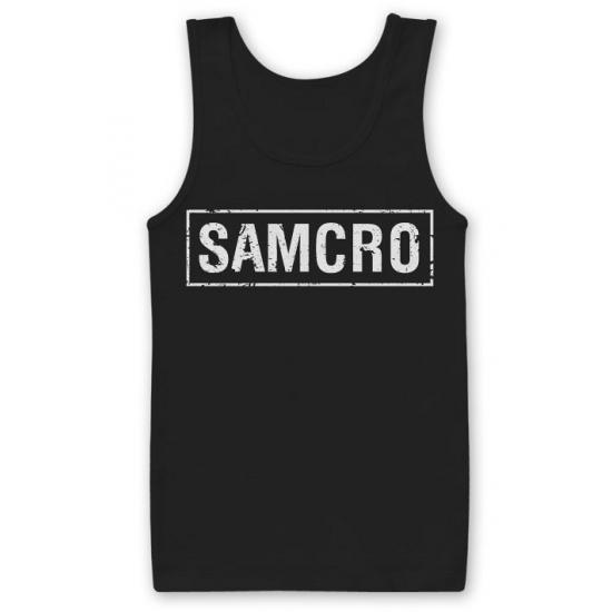 Zwarte SAMCRO tanktop