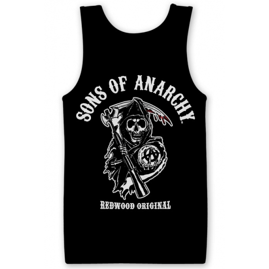 Zwarte Sons Of Anarchy tanktop