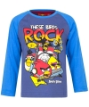 Angry birds t shirt blauw voor jongens