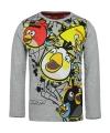 Angry birds t shirt grijs