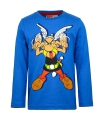 Asterix t shirt blauw