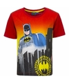 Batman t shirt rode mouw