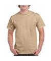 Camel katoenen shirt voor volwassenen