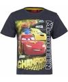 Cars t shirt grijs voor jongens