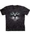 Cyperse kat poes t shirt voor volwassenen