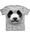 Dieren t shirt pandabeer voor volwassenen