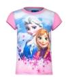Frozen t shirt roze voor meisjes