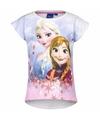 Frozen t shirt wit voor meisjes