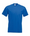 Fruit of the loom t shirt kobalt