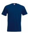 Fruit of the loom t shirt navy