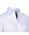 Giovanni capraro overhemd wit