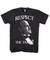 Godfather respect t shirt heren