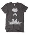 Godfather t shirt grijs heren