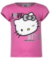 Hello kitty t shirt roze