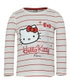 Hello kitty t shirt wit met rood