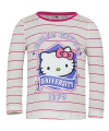 Hello kitty t shirt wit met roze