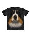 Honden t shirt berner sennen hond voor volwassenen