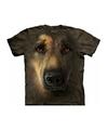 Honden t shirt duitse herder voor volwassenen