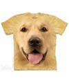 Honden t shirt golden retriever voor kinderen