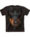 Honden t shirt pincher voor volwassenen