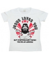 Jesus loves you dames shirt
