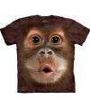 Kinder apen t shirt orang oetan