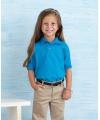 Kobalt blauwe poloshirt voor meisjes