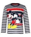 Mickey mouse t shirt blauw grijs voor jongens