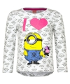 Minion t shirt wit