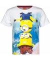 Minions kinder t shirt wit