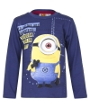 Minions t shirt blauw voor jongens