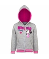 Minnie mouse sweater met rits grijs