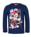 Minnie mouse t shirt blauw voor meisjes
